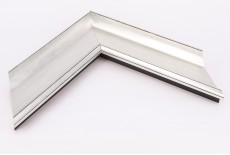 Large Traditional Ornate Moulding, Silver