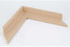 40mm Tray Plain Oak Veneer moulding