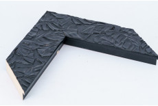 Black Palm Leaf Moulding