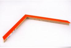 Small Box Moulding, Neon Orange
