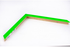 Small Box Moulding, Neon Green