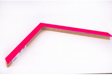 Small Box Moulding, Neon Pink