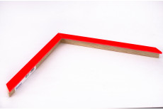 Small Box Moulding, Neon Light red
