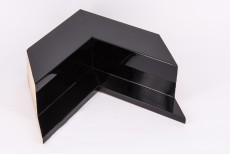 Angled Shiny Black Box Float Profile