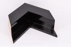 Angled Shiny Black Box Float Profile