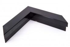 Markestil Medium Box Profile, High Gloss Black