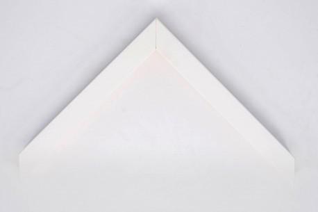 22mm Box Profile, Open Grain White