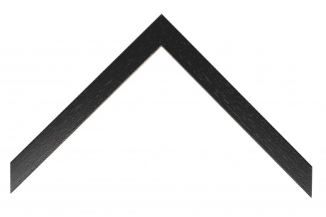 22mm Box Profile, Open Grain Black