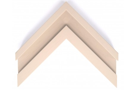 Large Open Grain Taupe Trough Moulding