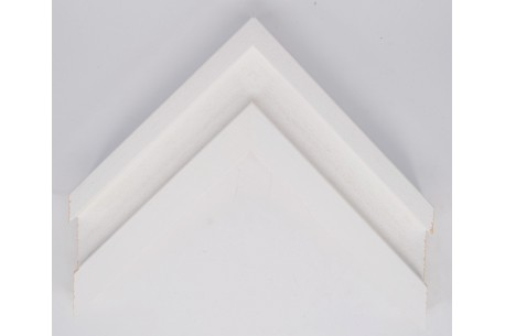 "1.5"" Flat Moulding with Lips- Open Grain Black"