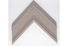 Open Grain Taupe Contemporary Reverse Moulding