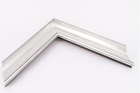 Medium Traditional Ornate Moulding, Silver - Flagship Framing