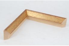19x50mm Triangle Gold Leaf