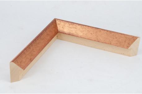 19x50mm Triangle Copper Leaf